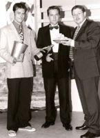 """Das """"Rat Pack"""" der Unterfeldmäuse: Branko Jurkin, Sven Hansen, Manfred Teitge"""