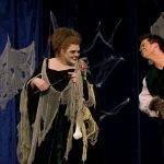 Gaby Kreuer als Kokolores Kichererbse & Branko Jurkin als Prinz Mumpelfitz